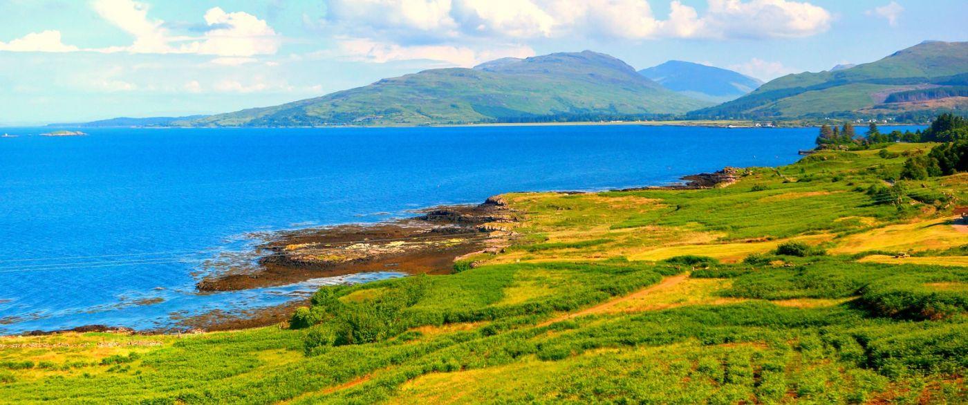 苏格兰美景,月牙般的海湾_图1-14