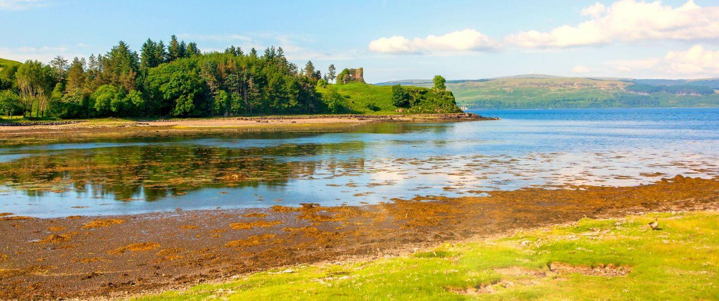 苏格兰美景,月牙般的海湾_图1-18