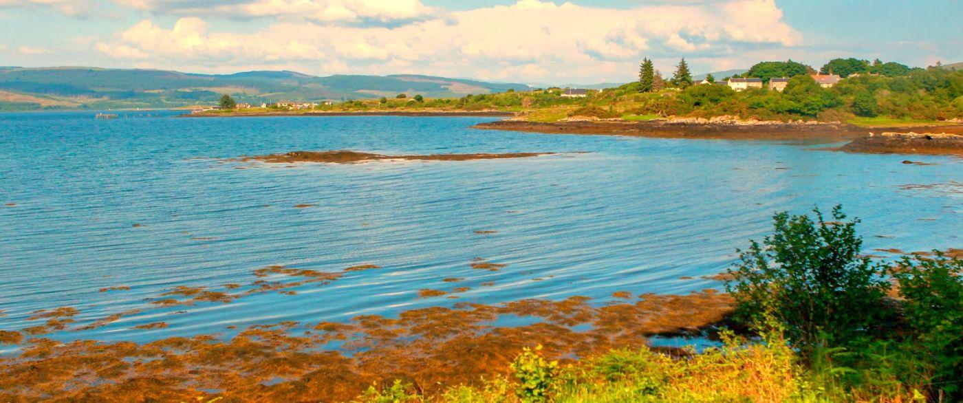 苏格兰美景,月牙般的海湾_图1-19