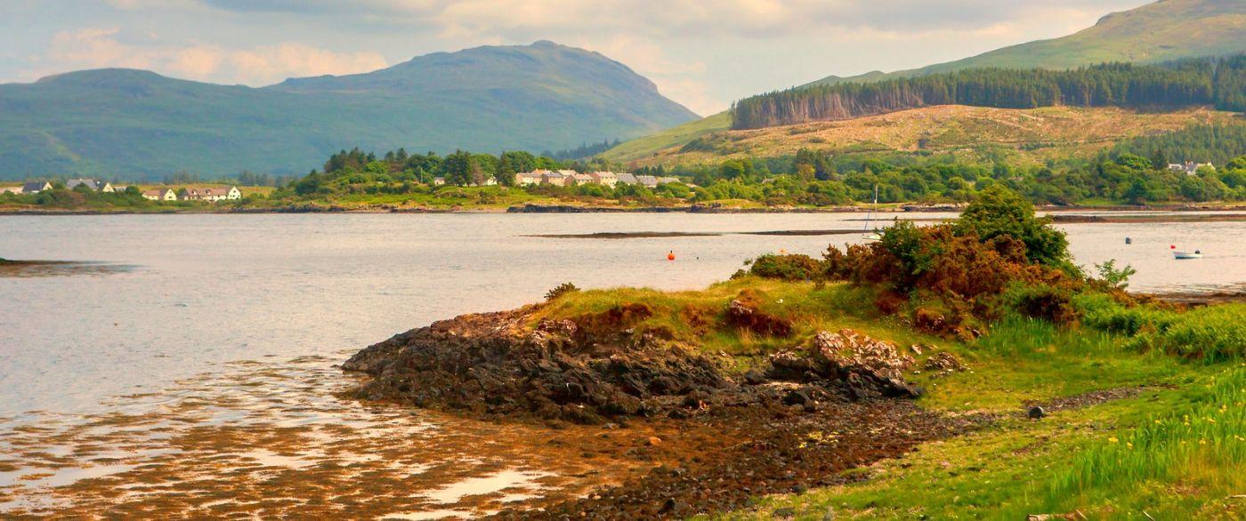 苏格兰美景,月牙般的海湾_图1-21