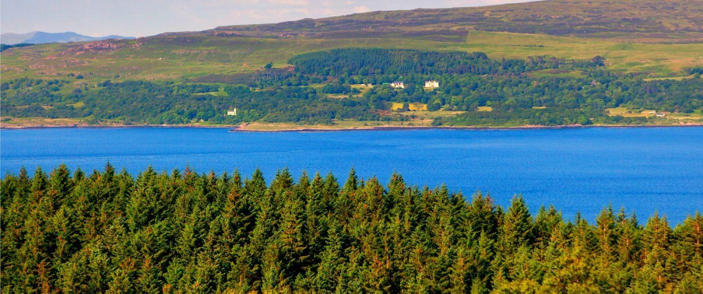 苏格兰美景,月牙般的海湾_图1-23