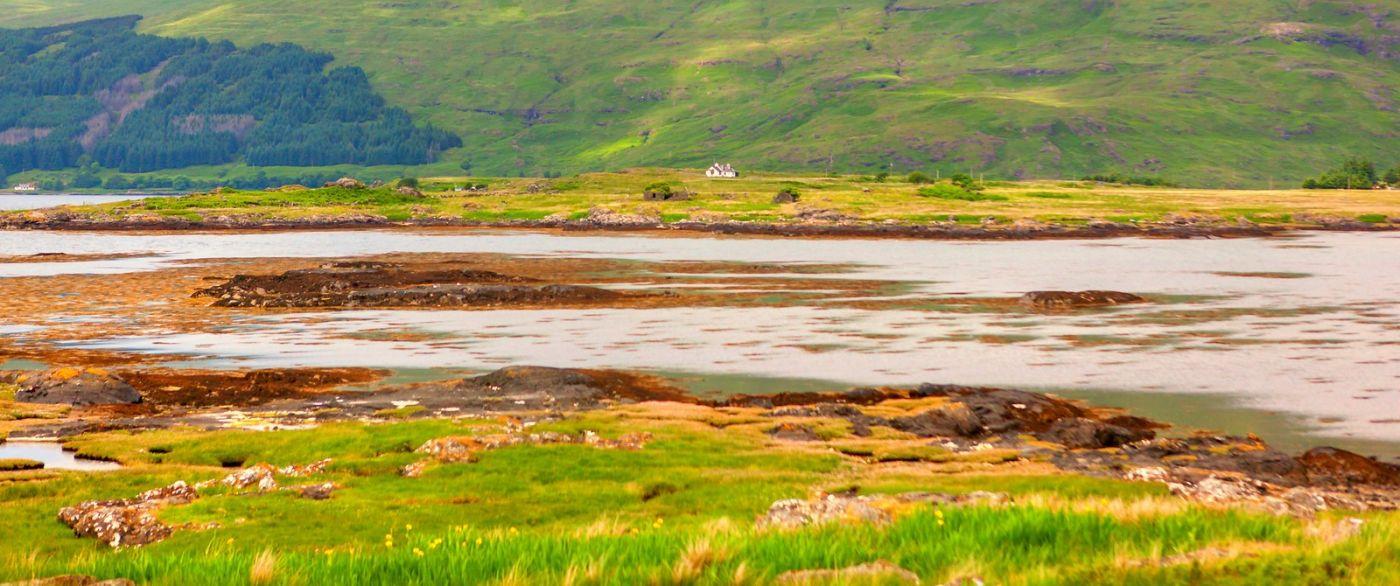 苏格兰美景,月牙般的海湾_图1-22