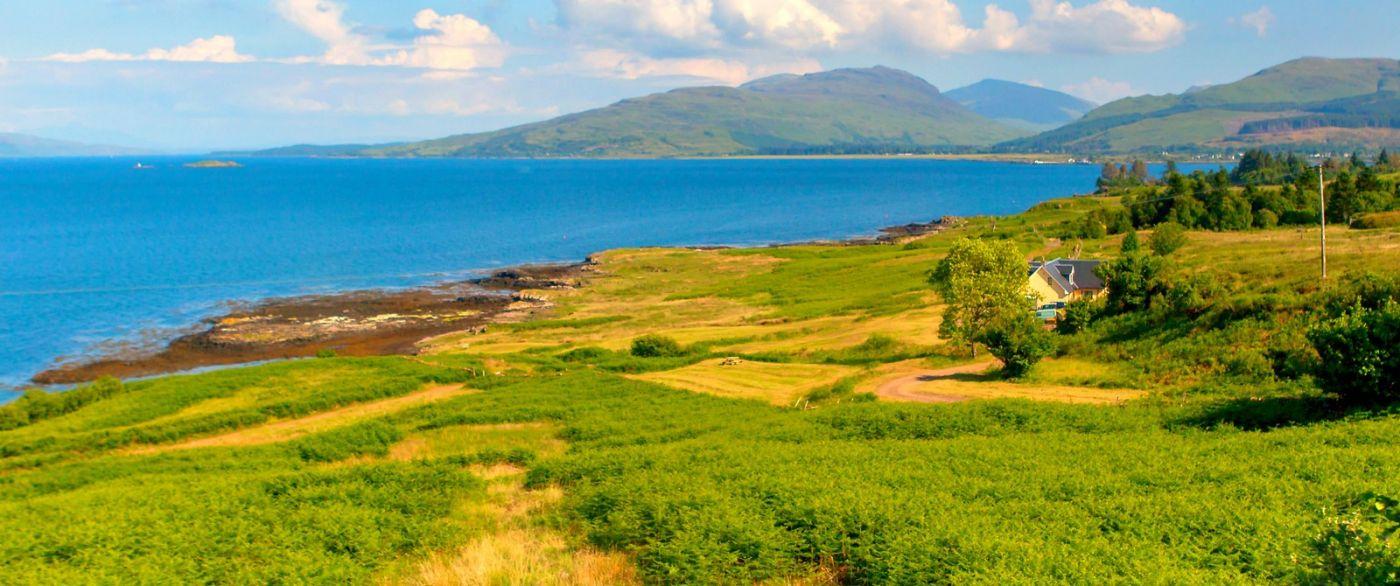 苏格兰美景,月牙般的海湾_图1-27