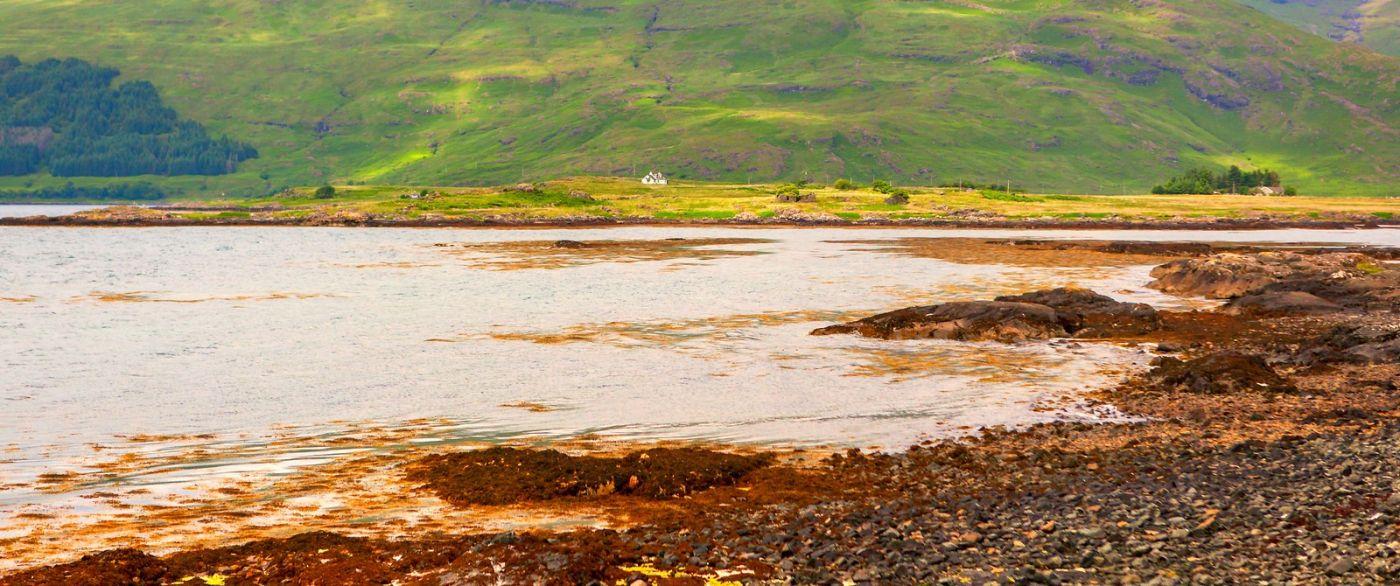 苏格兰美景,月牙般的海湾_图1-25