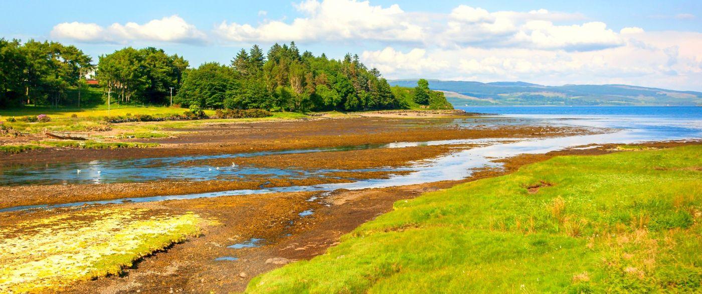苏格兰美景,月牙般的海湾_图1-26