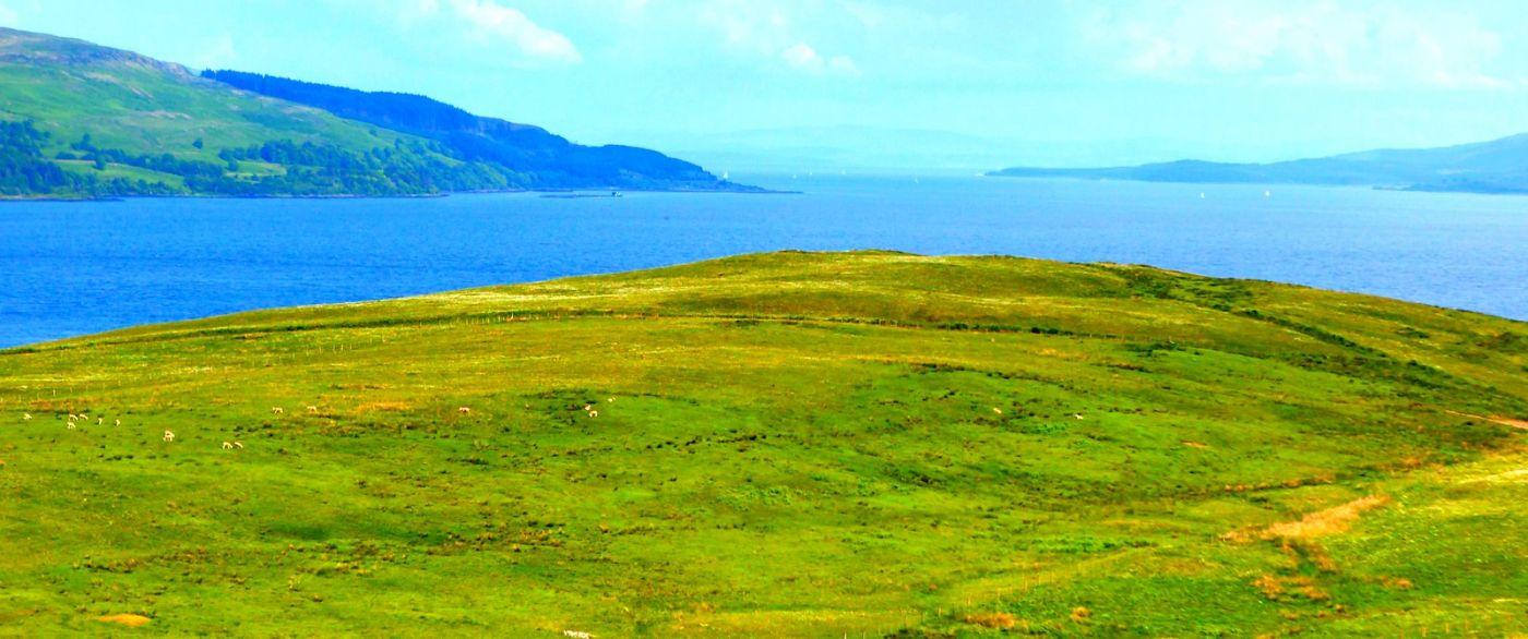 苏格兰美景,月牙般的海湾_图1-29