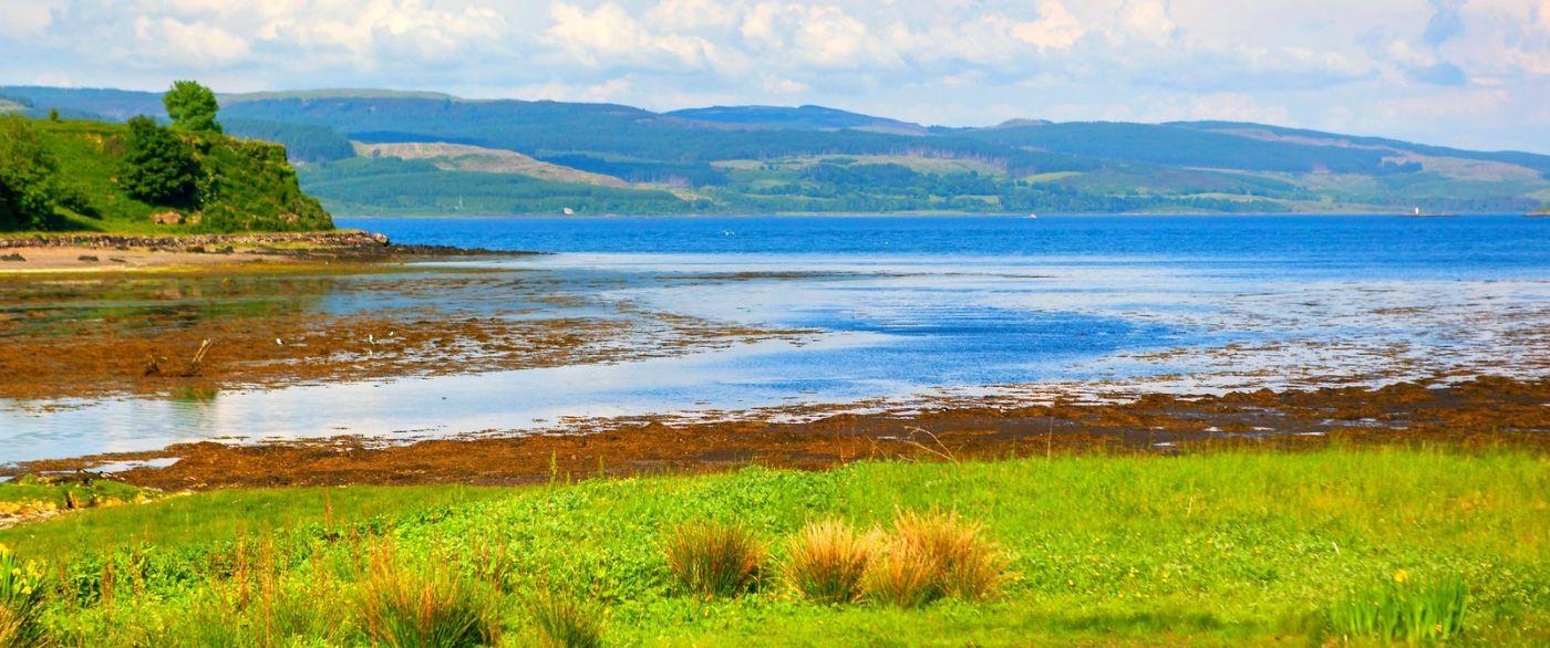 苏格兰美景,月牙般的海湾_图1-30