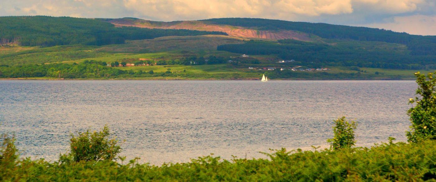 苏格兰美景,月牙般的海湾_图1-31