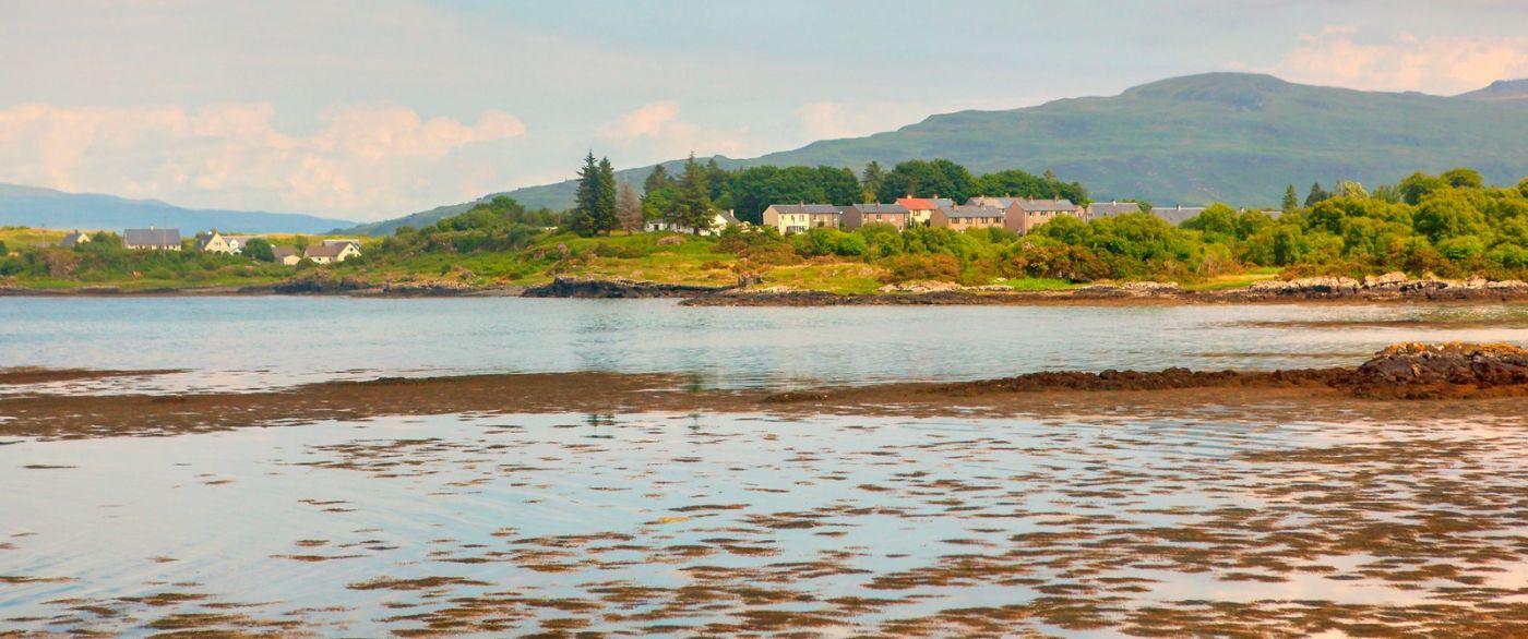 苏格兰美景,月牙般的海湾_图1-32