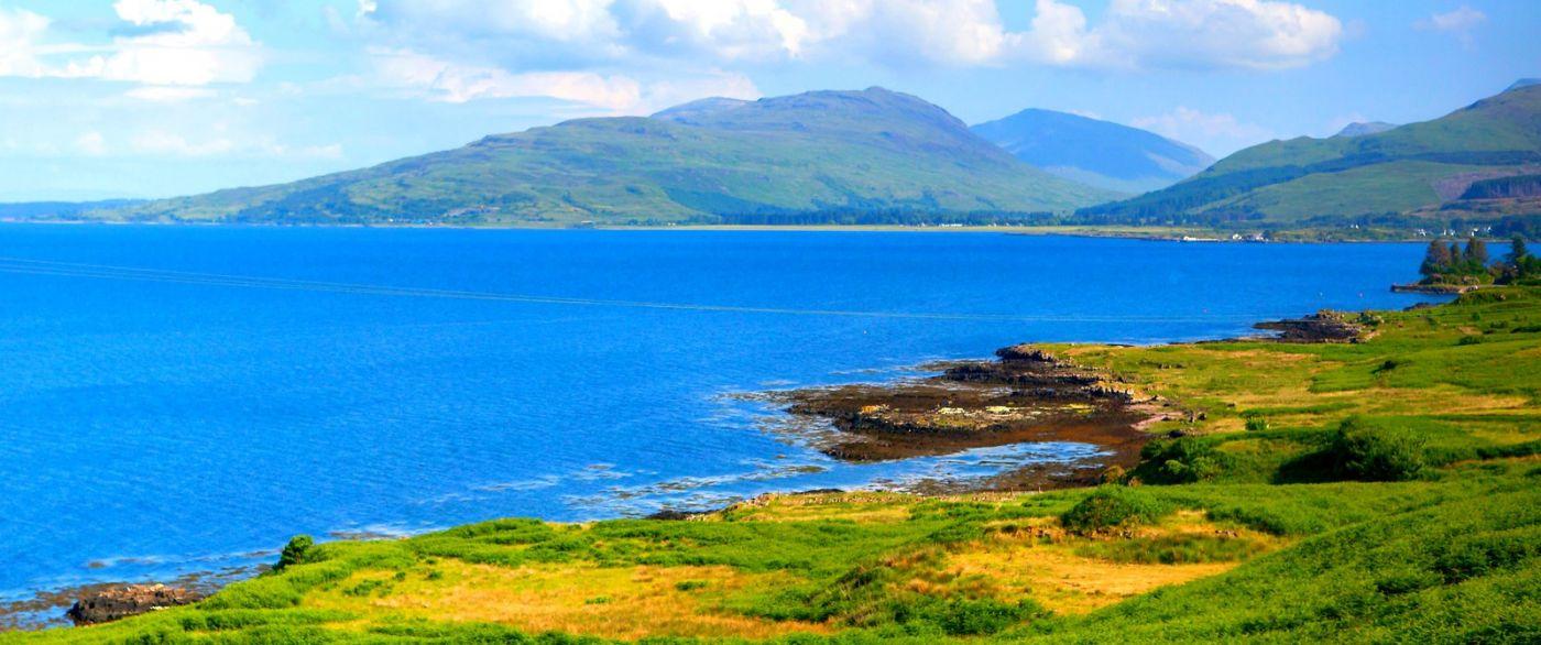 苏格兰美景,月牙般的海湾_图1-36