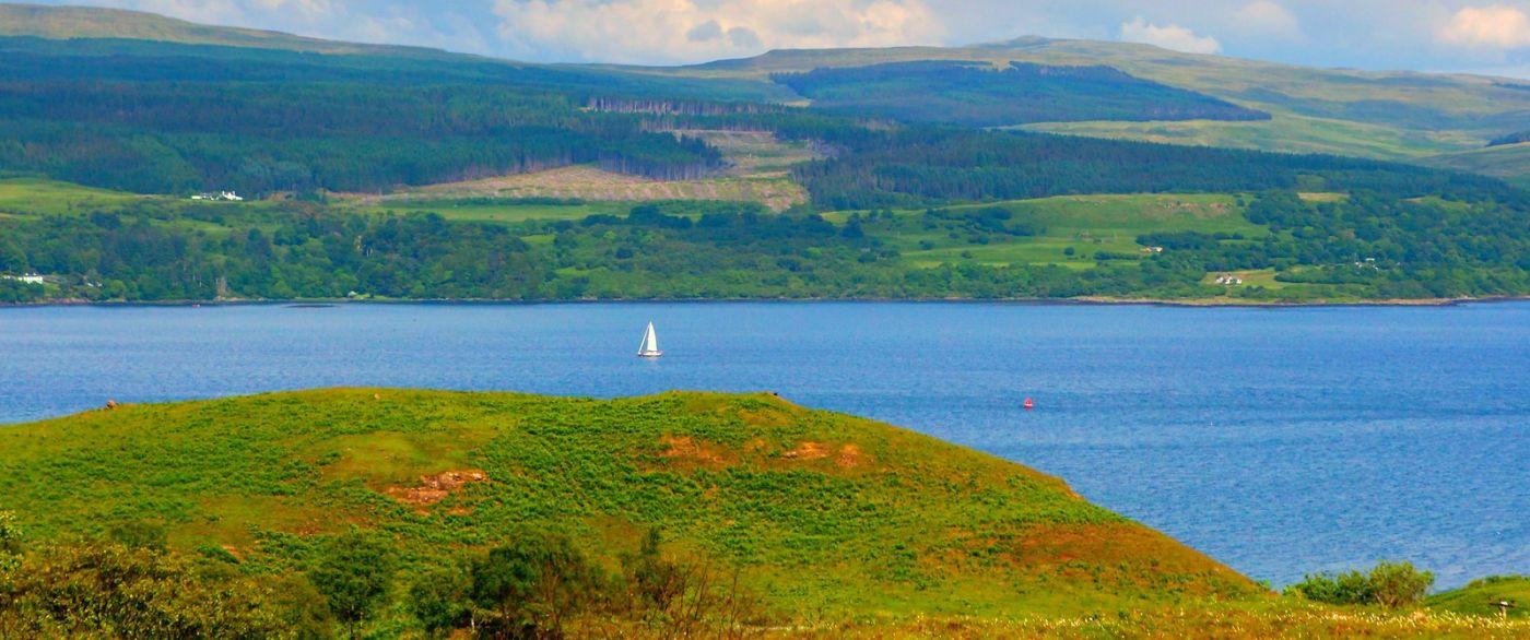 苏格兰美景,月牙般的海湾_图1-37