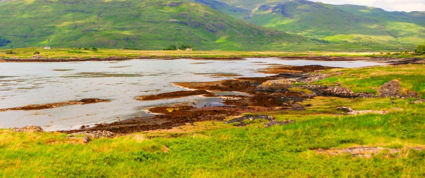 苏格兰美景,月牙般的海湾_图1-39