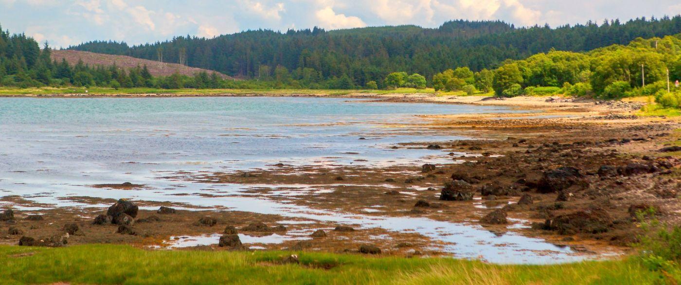 苏格兰美景,月牙般的海湾_图1-40