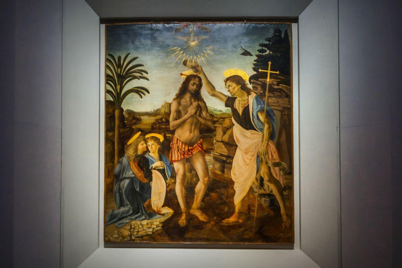 意大利佛罗伦斯乌菲兹美术馆, 目睹藏品_图1-38