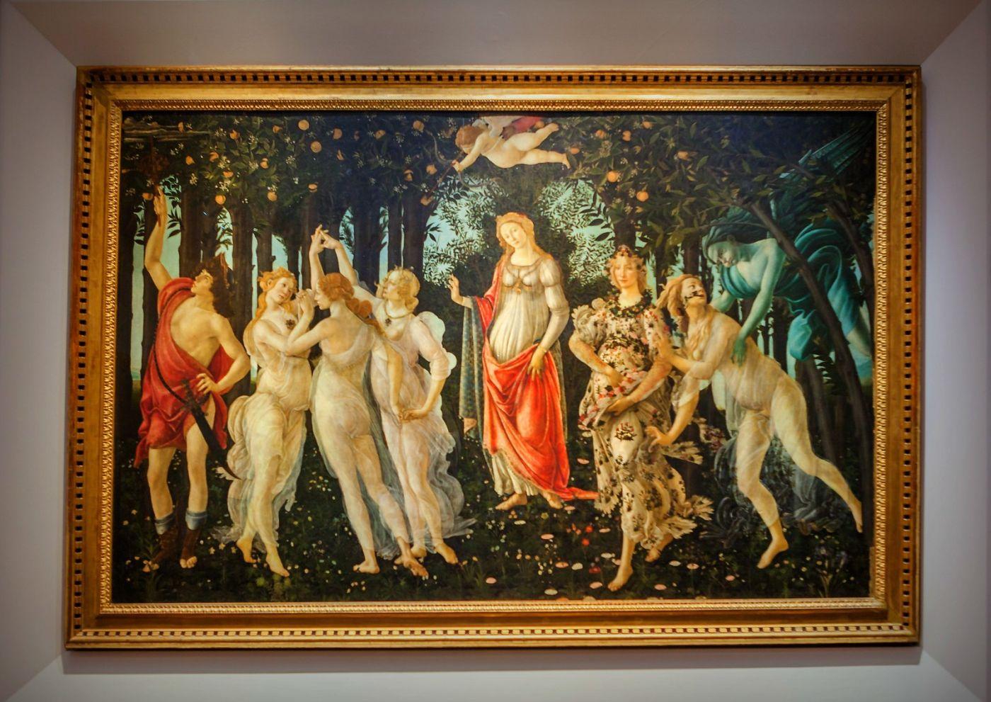 意大利佛罗伦斯乌菲兹美术馆, 目睹藏品_图1-39
