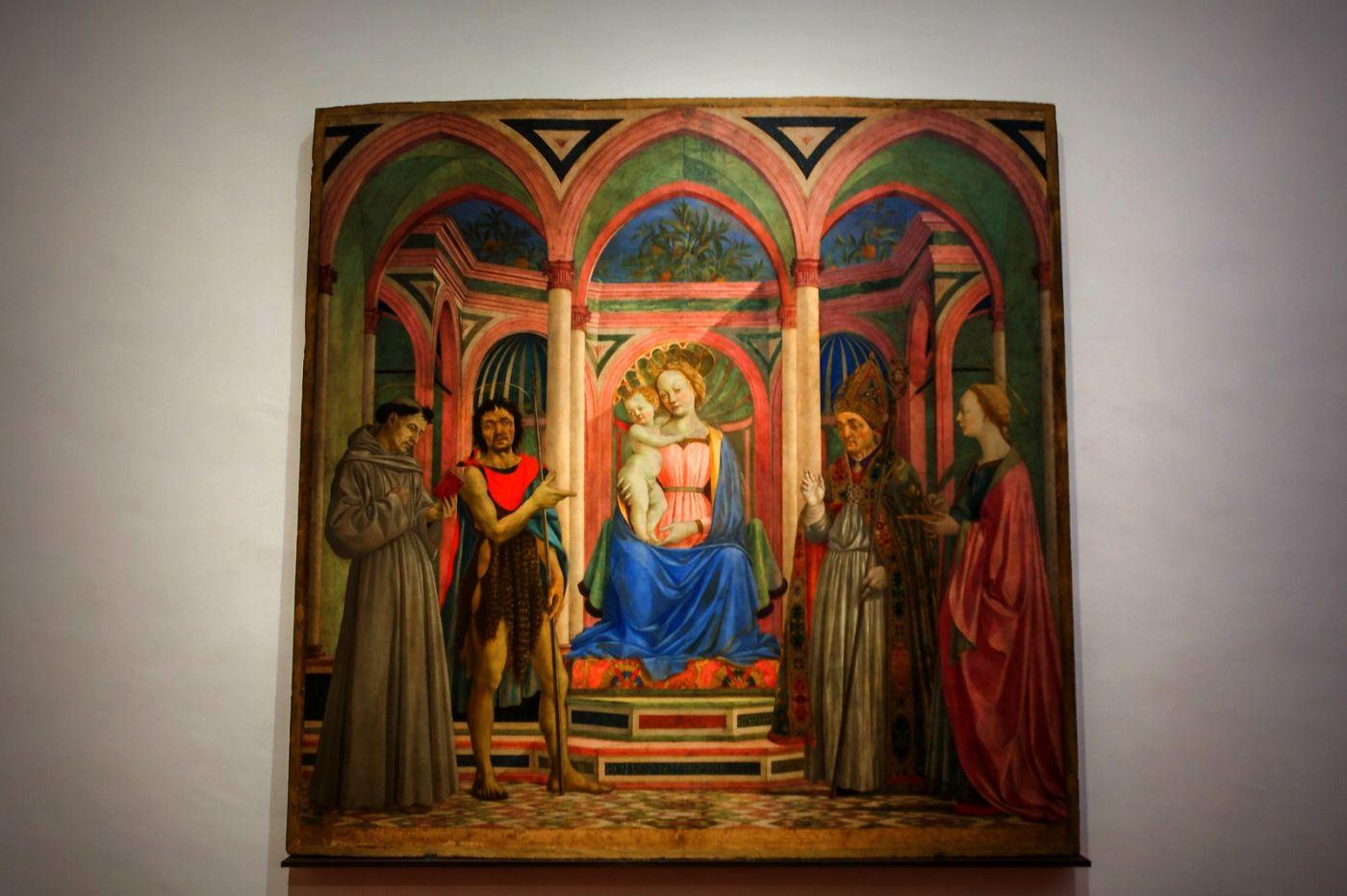 意大利佛罗伦斯乌菲兹美术馆, 目睹藏品_图1-36