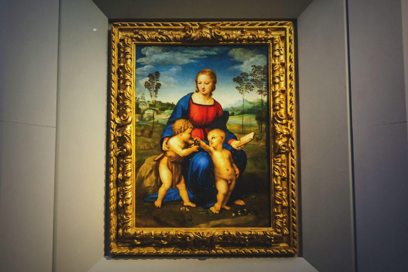 意大利佛罗伦斯乌菲兹美术馆, 目睹藏品_图1-34