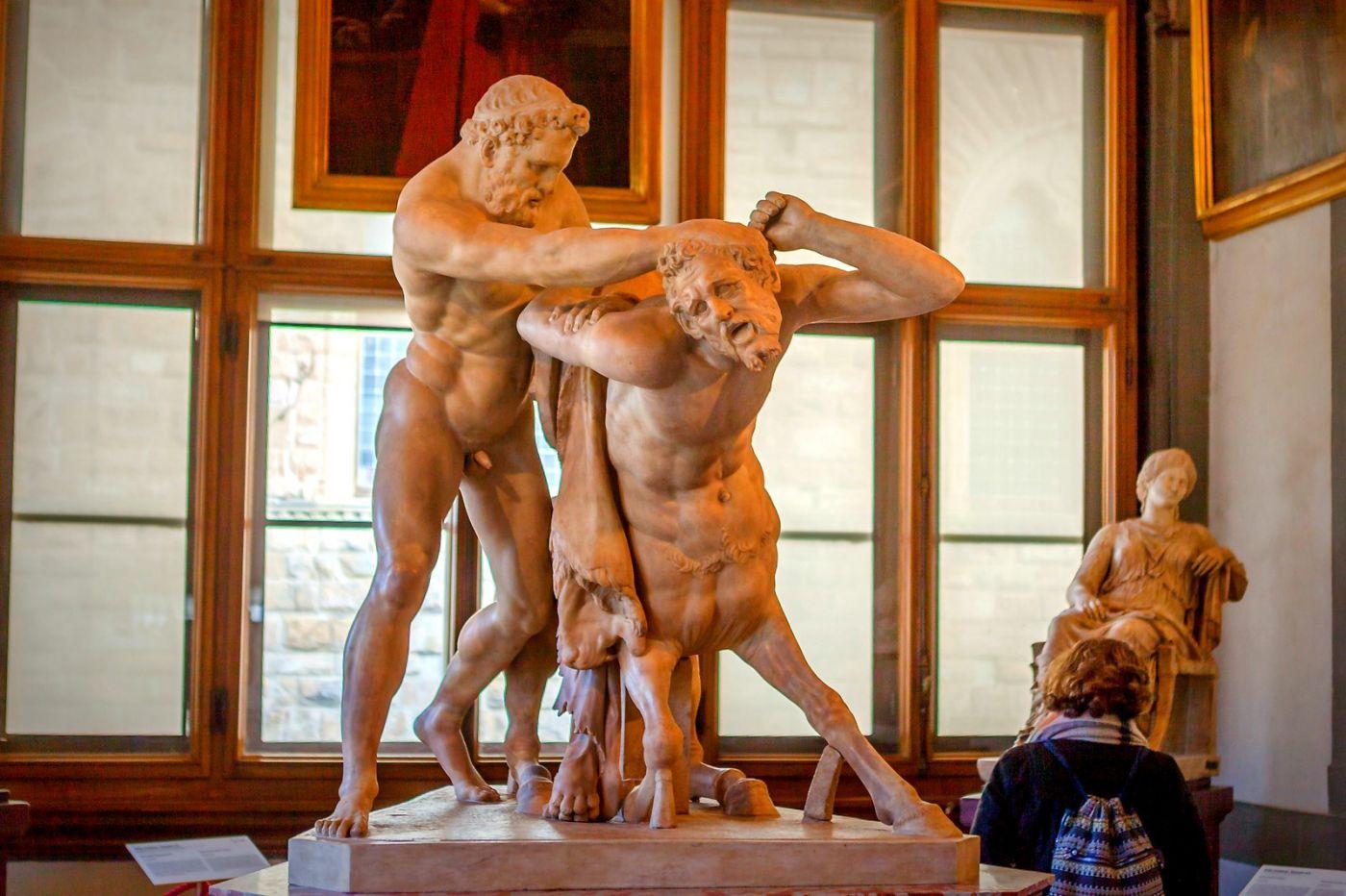 意大利佛罗伦斯乌菲兹美术馆, 目睹藏品_图1-29
