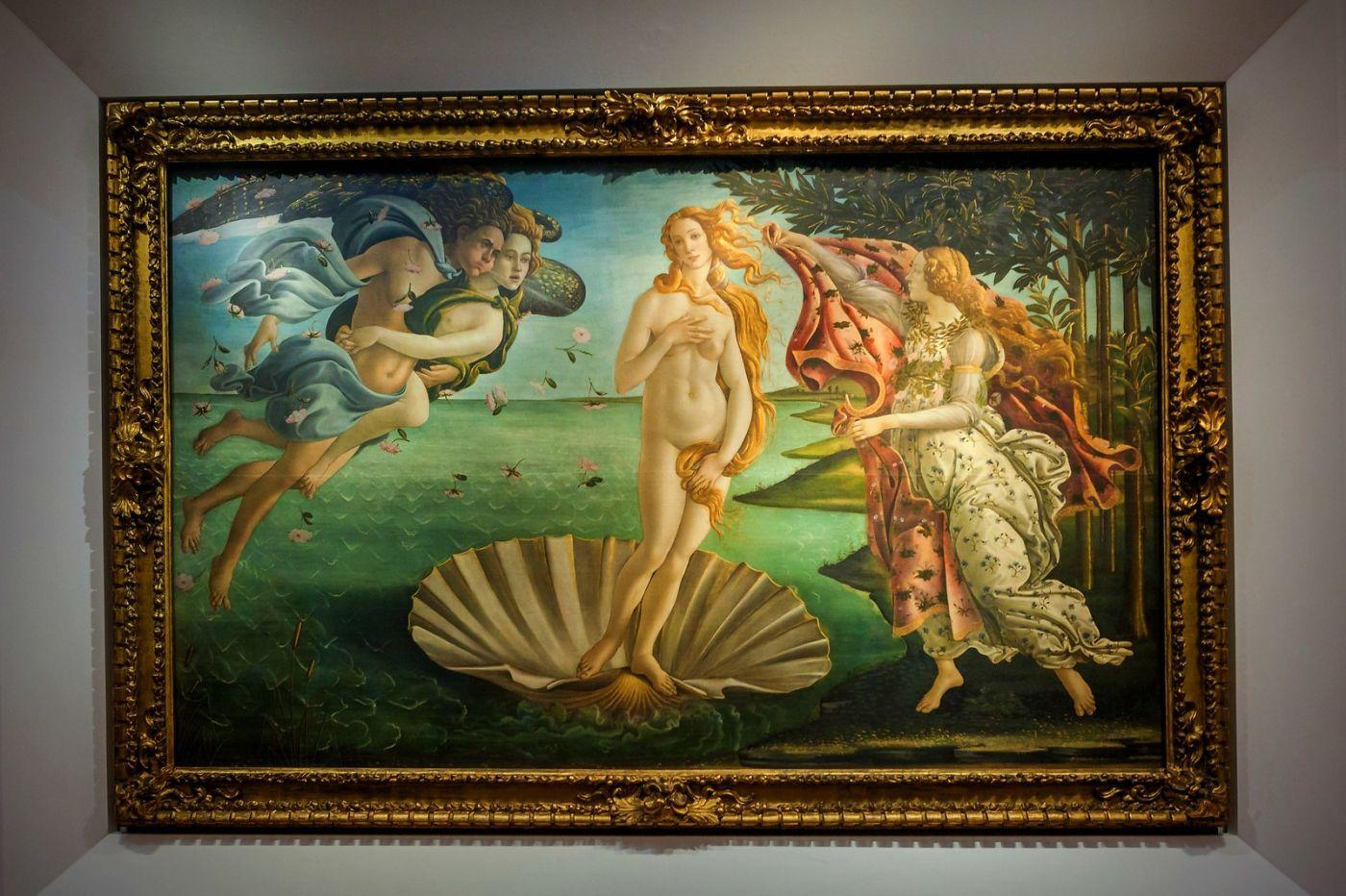 意大利佛罗伦斯乌菲兹美术馆, 目睹藏品_图1-25