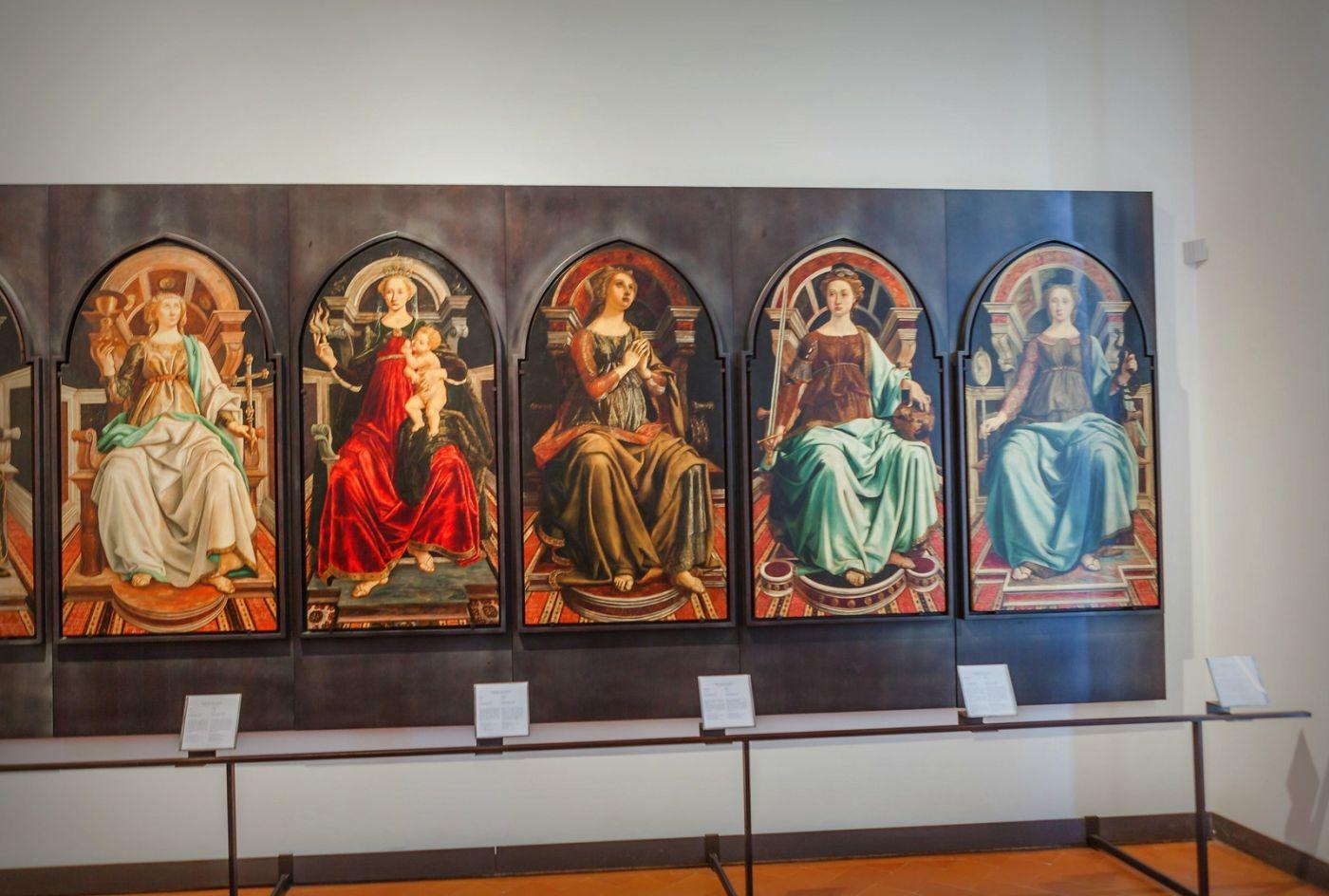 意大利佛罗伦斯乌菲兹美术馆, 目睹藏品_图1-23
