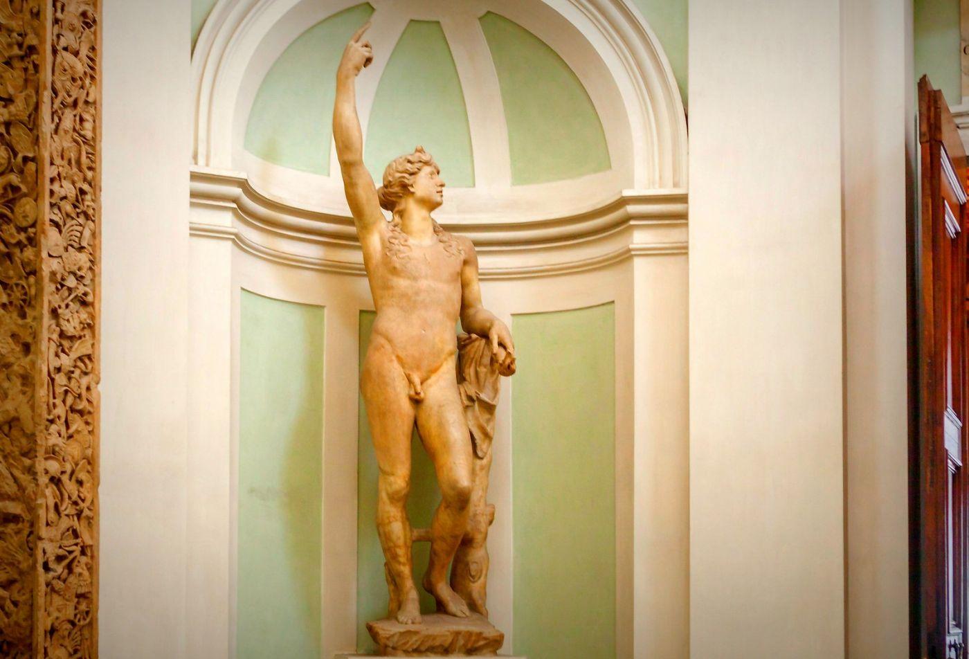 意大利佛罗伦斯乌菲兹美术馆, 目睹藏品_图1-13