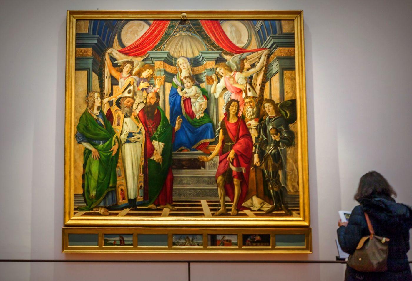 意大利佛罗伦斯乌菲兹美术馆, 目睹藏品_图1-12