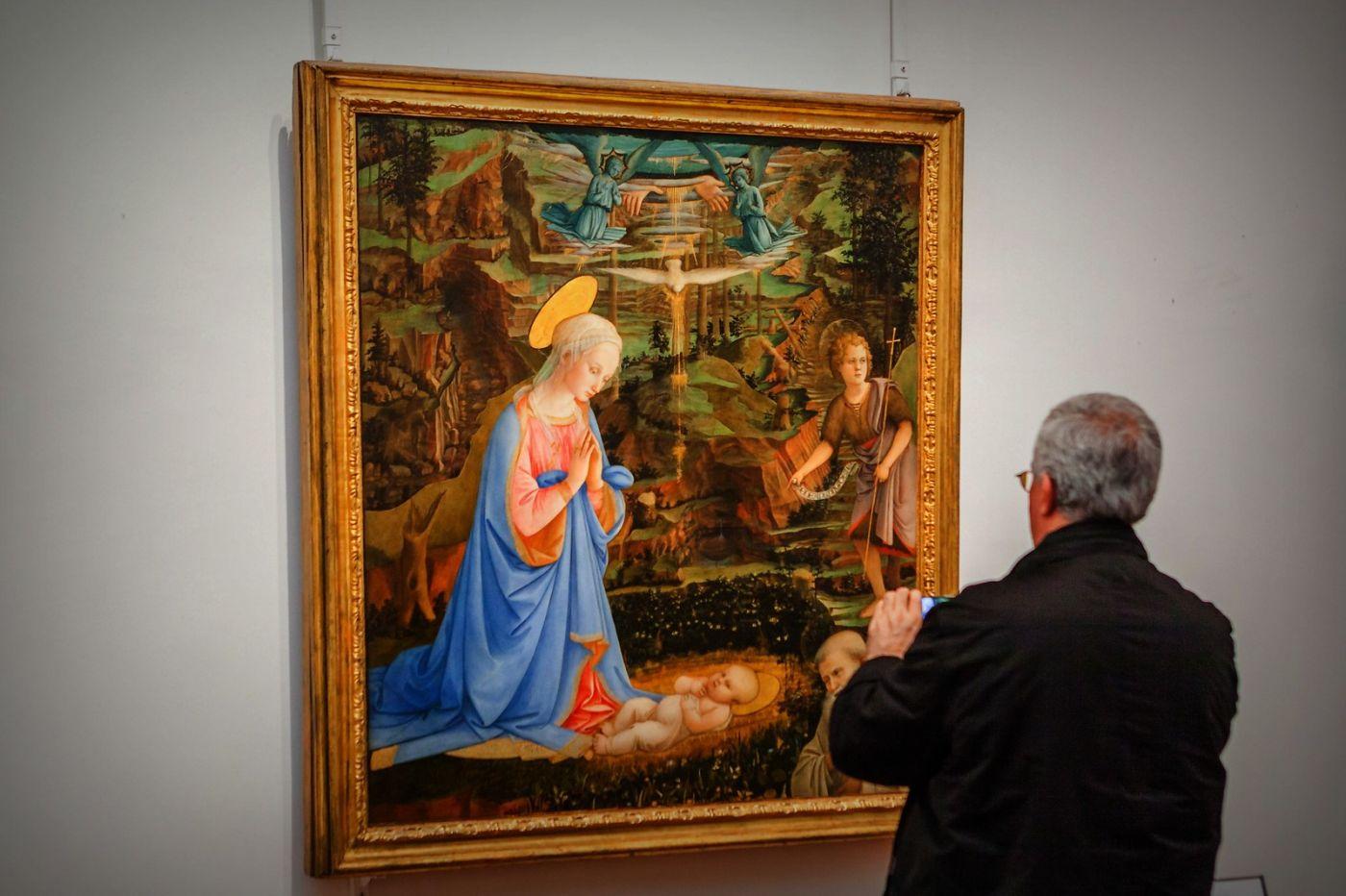 意大利佛罗伦斯乌菲兹美术馆, 目睹藏品_图1-8