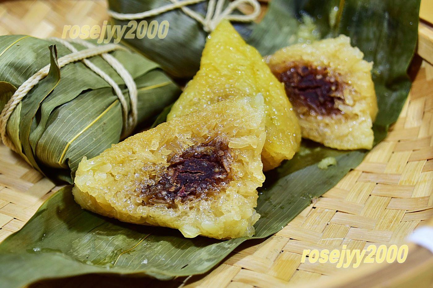 豆沙枧水粽_图1-1