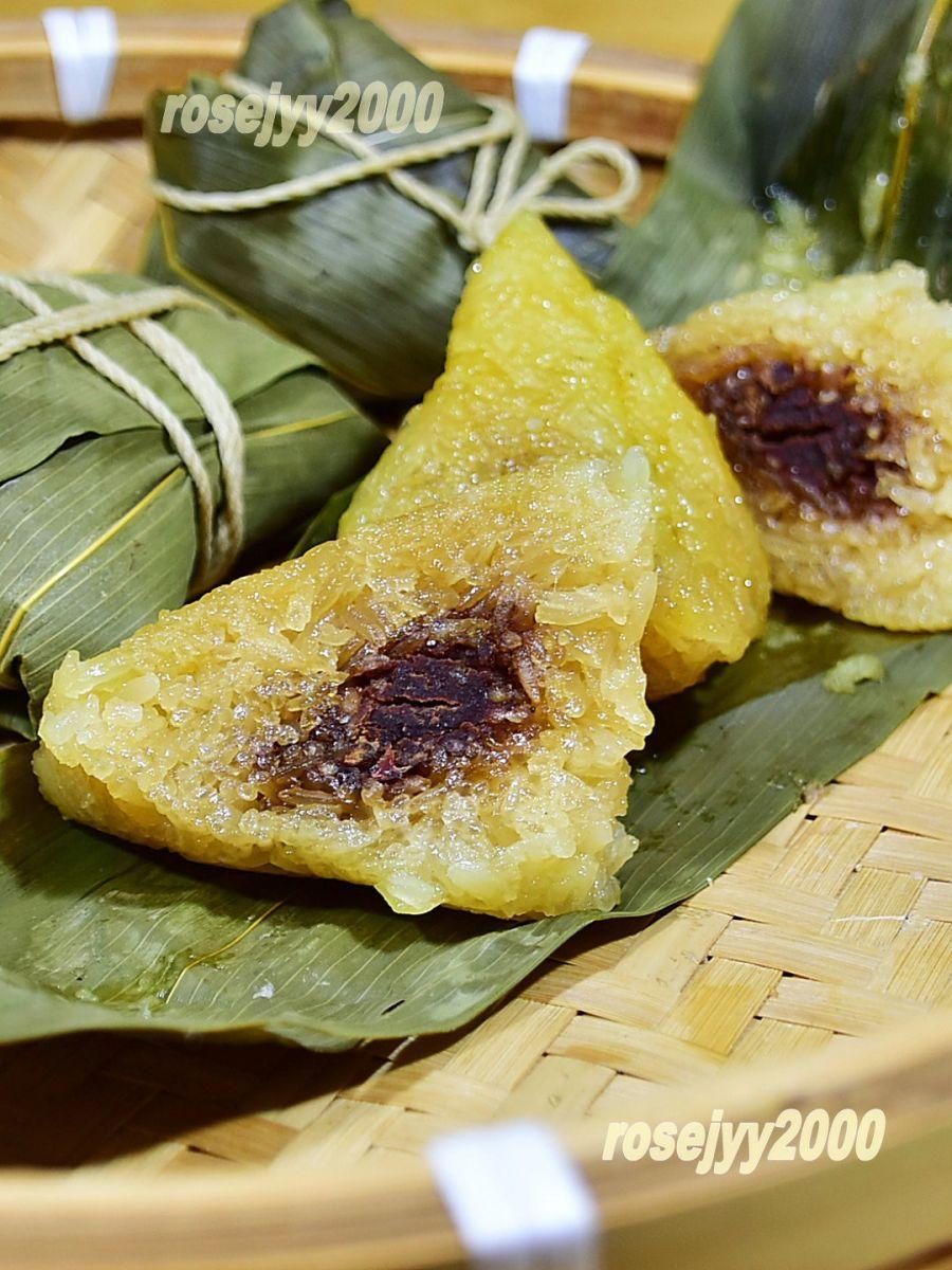 豆沙枧水粽_图1-4