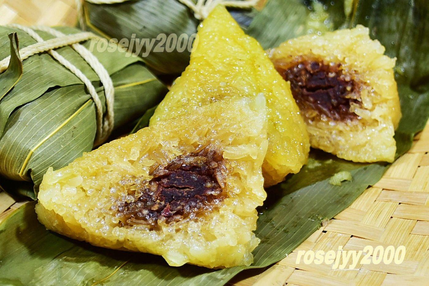 豆沙枧水粽_图1-5