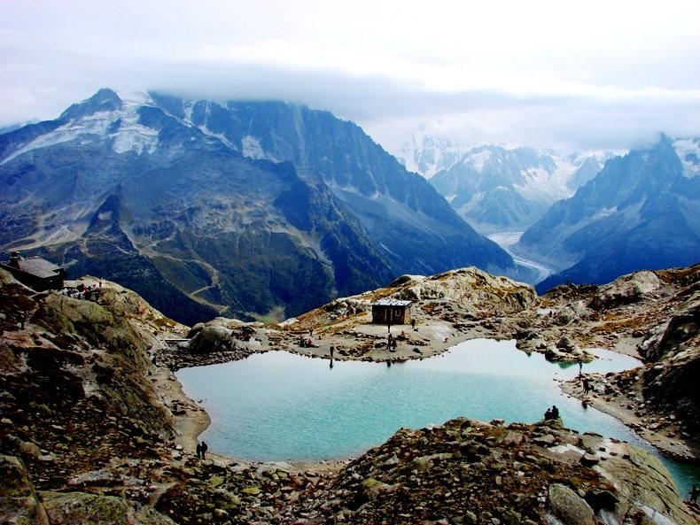 隐藏在令人惊叹的高山全景中----夏蒙尼湖_图1-12