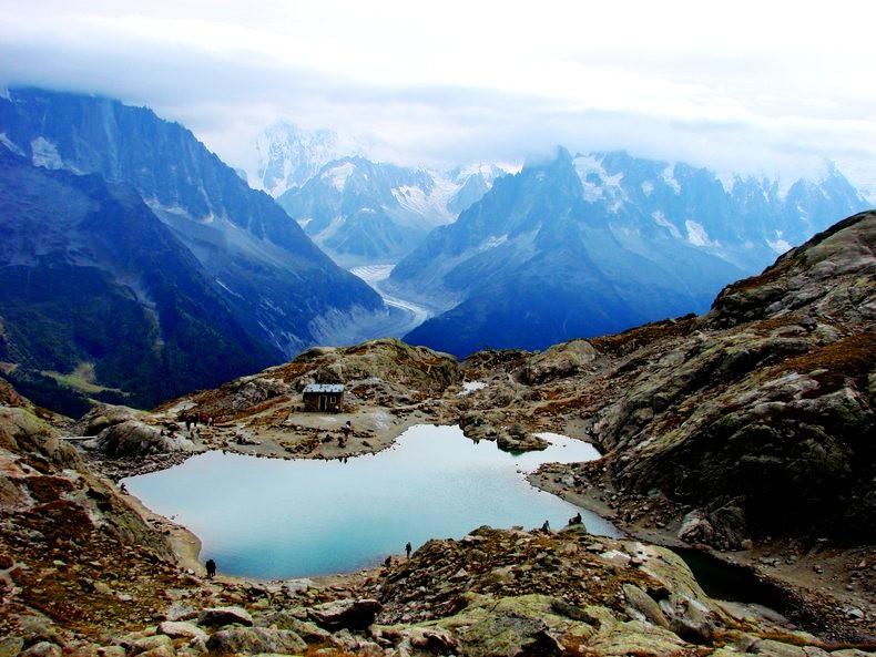 隐藏在令人惊叹的高山全景中----夏蒙尼湖_图1-14