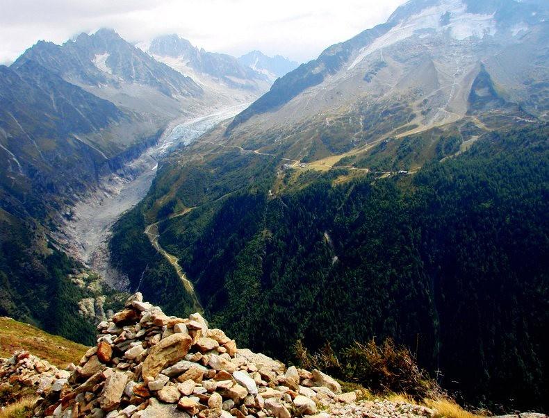隐藏在令人惊叹的高山全景中----夏蒙尼湖_图1-19