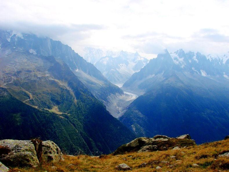 隐藏在令人惊叹的高山全景中----夏蒙尼湖_图1-23