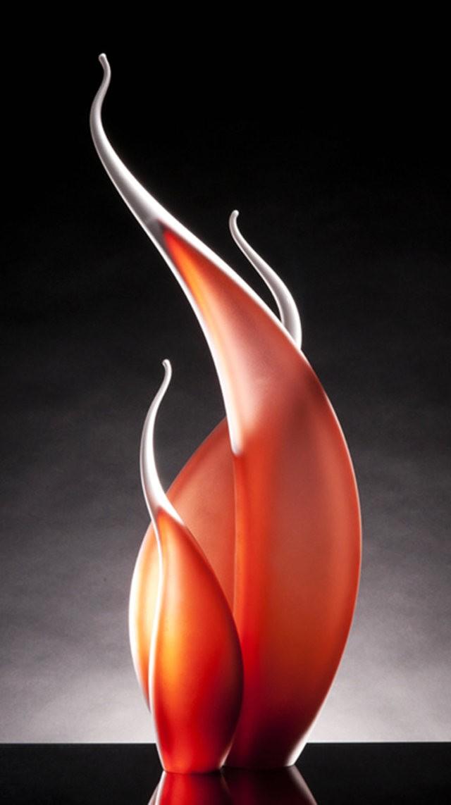Rick Eggert 玻璃雕塑--2_图1-2