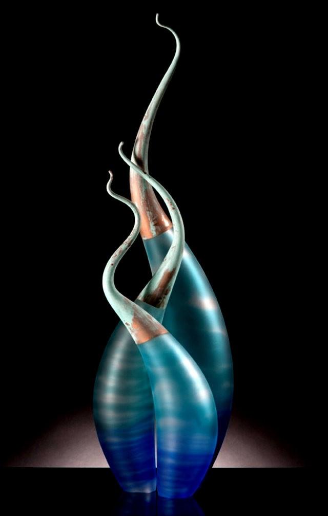 Rick Eggert 玻璃雕塑--2_图1-4