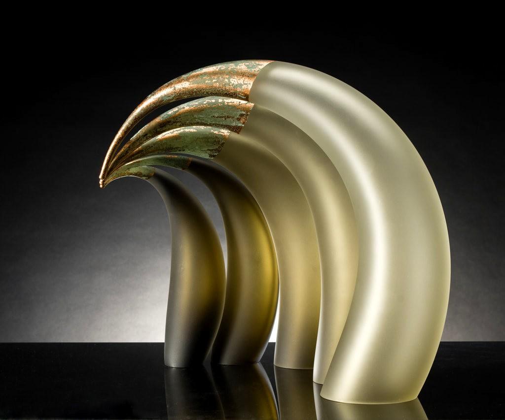 Rick Eggert 玻璃雕塑--2_图1-5