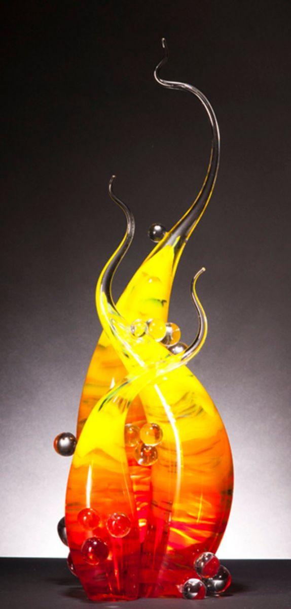 Rick Eggert 玻璃雕塑--2_图1-6
