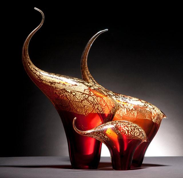 Rick Eggert 玻璃雕塑--2_图1-7