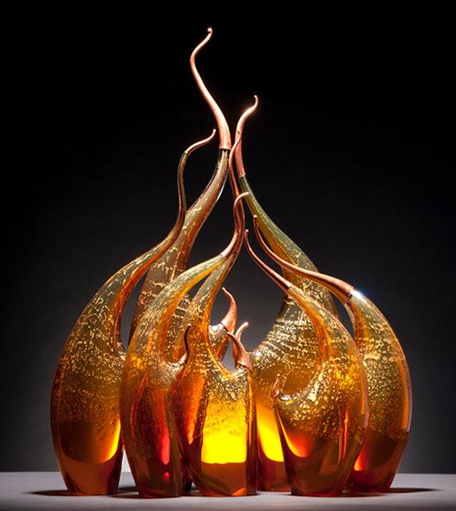 Rick Eggert 玻璃雕塑--2_图1-9