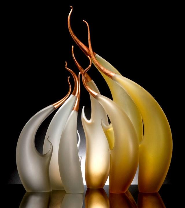 Rick Eggert 玻璃雕塑--2_图1-10
