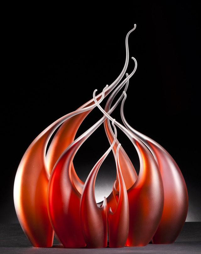 Rick Eggert 玻璃雕塑--2_图1-11