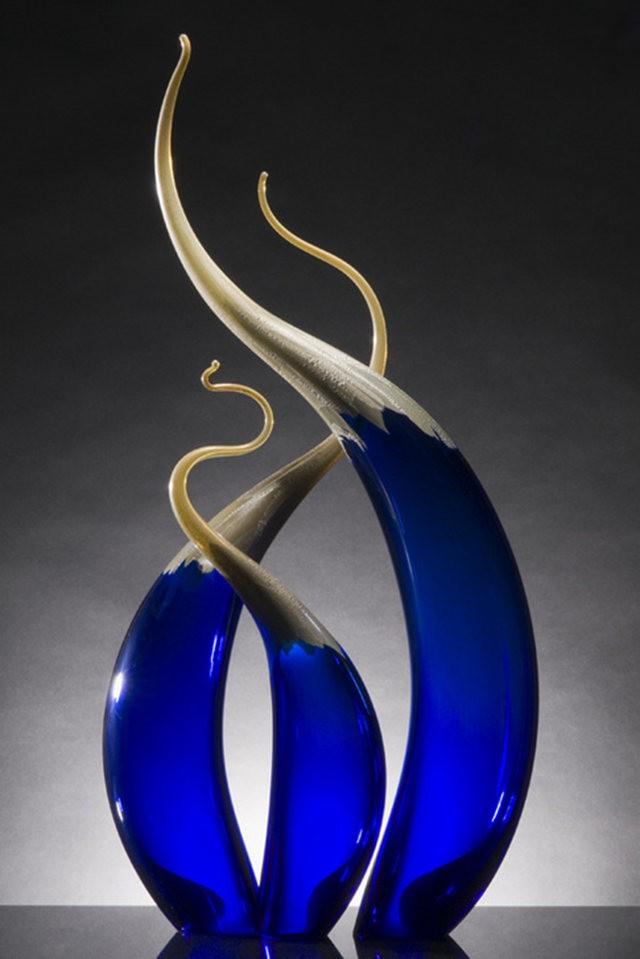Rick Eggert 玻璃雕塑--2_图1-12