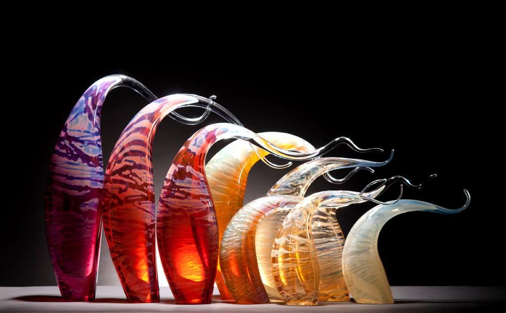 Rick Eggert 玻璃雕塑--2_图1-17