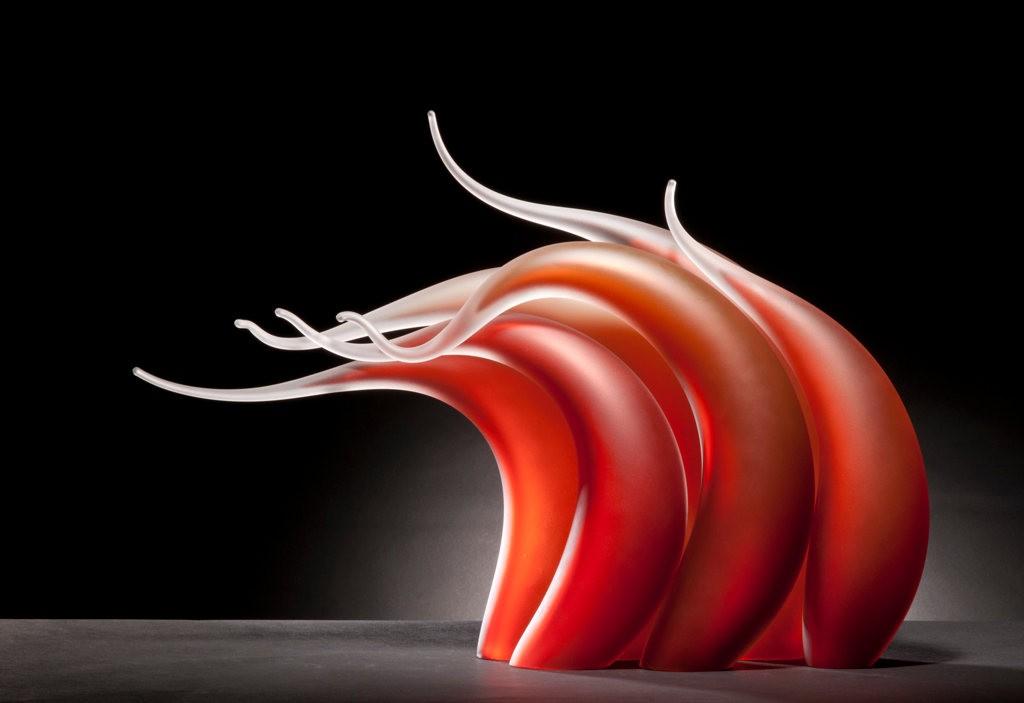 Rick Eggert 玻璃雕塑--2_图1-19