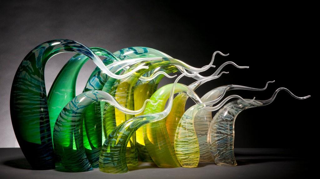 Rick Eggert 玻璃雕塑--2_图1-21