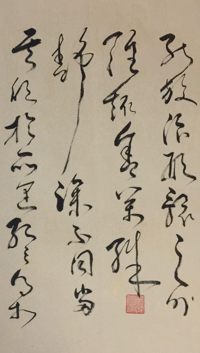 中国书法草书艺术—艺术家石维加_图1-4