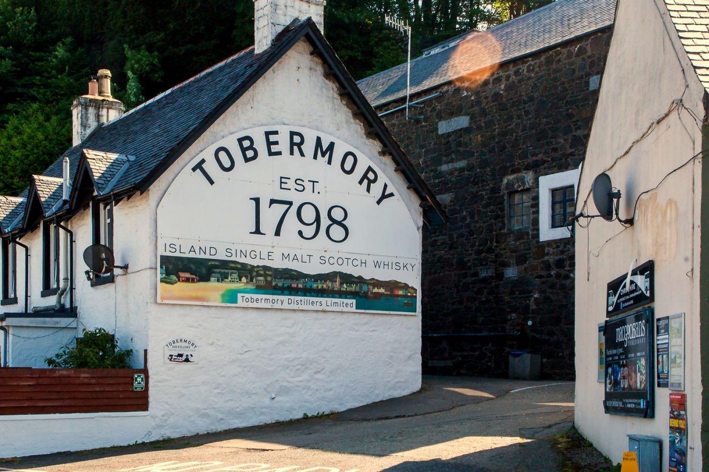 苏格兰托伯莫里(Tobermory),悠闲的度假小城_图1-19