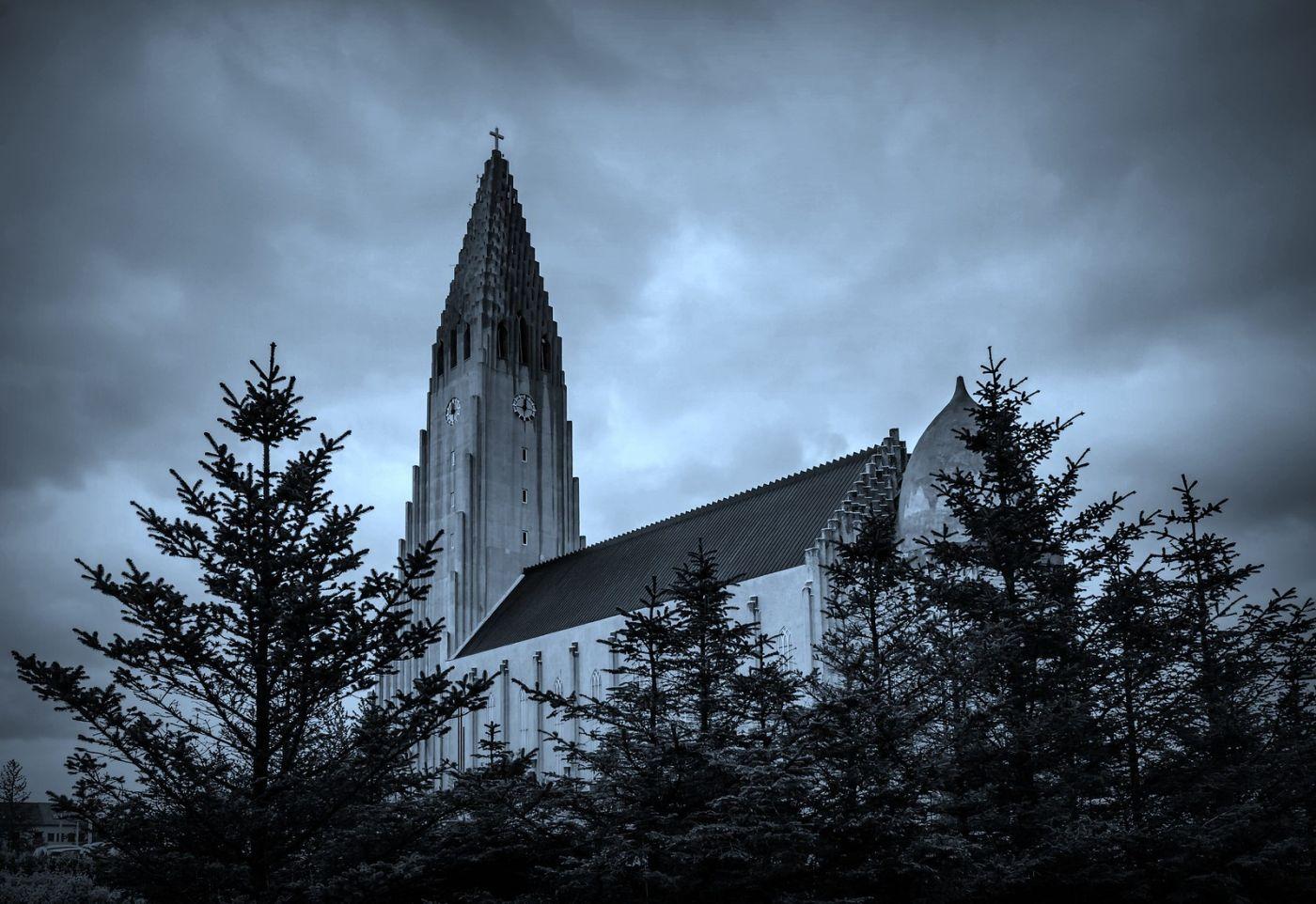 冰岛Hallgrimskirkja教堂,超奇特的建筑_图1-1