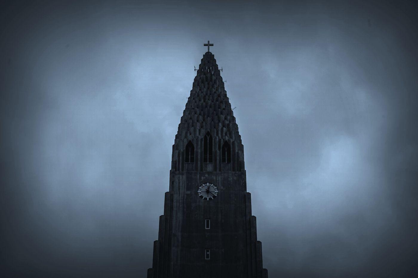冰岛Hallgrimskirkja教堂,超奇特的建筑_图1-14